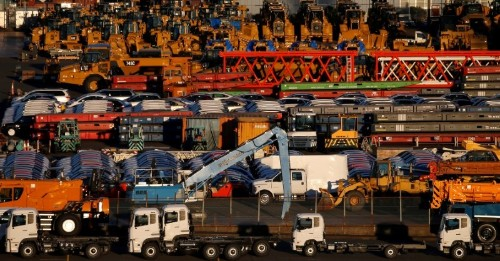 Japan exports shrink for 13th month in further blow to economy
