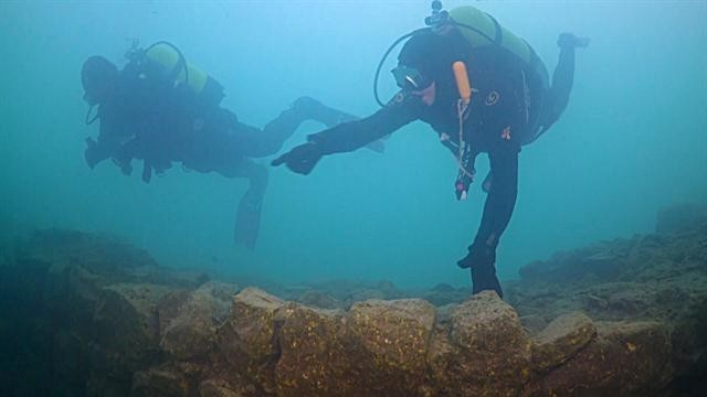 Ancient Turkish Ruins Discovered Underwater