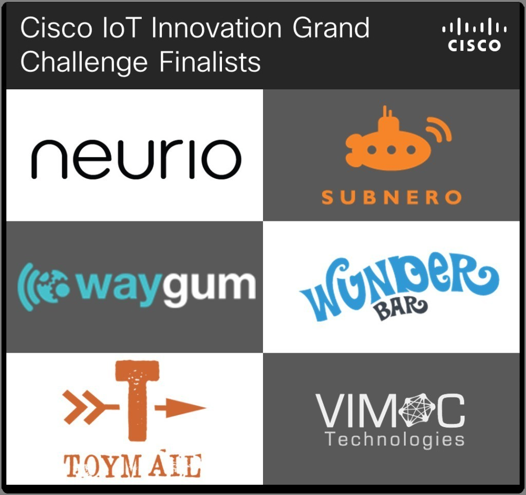 Announcing Finalists for the IoT Innovation Grand Challenge!