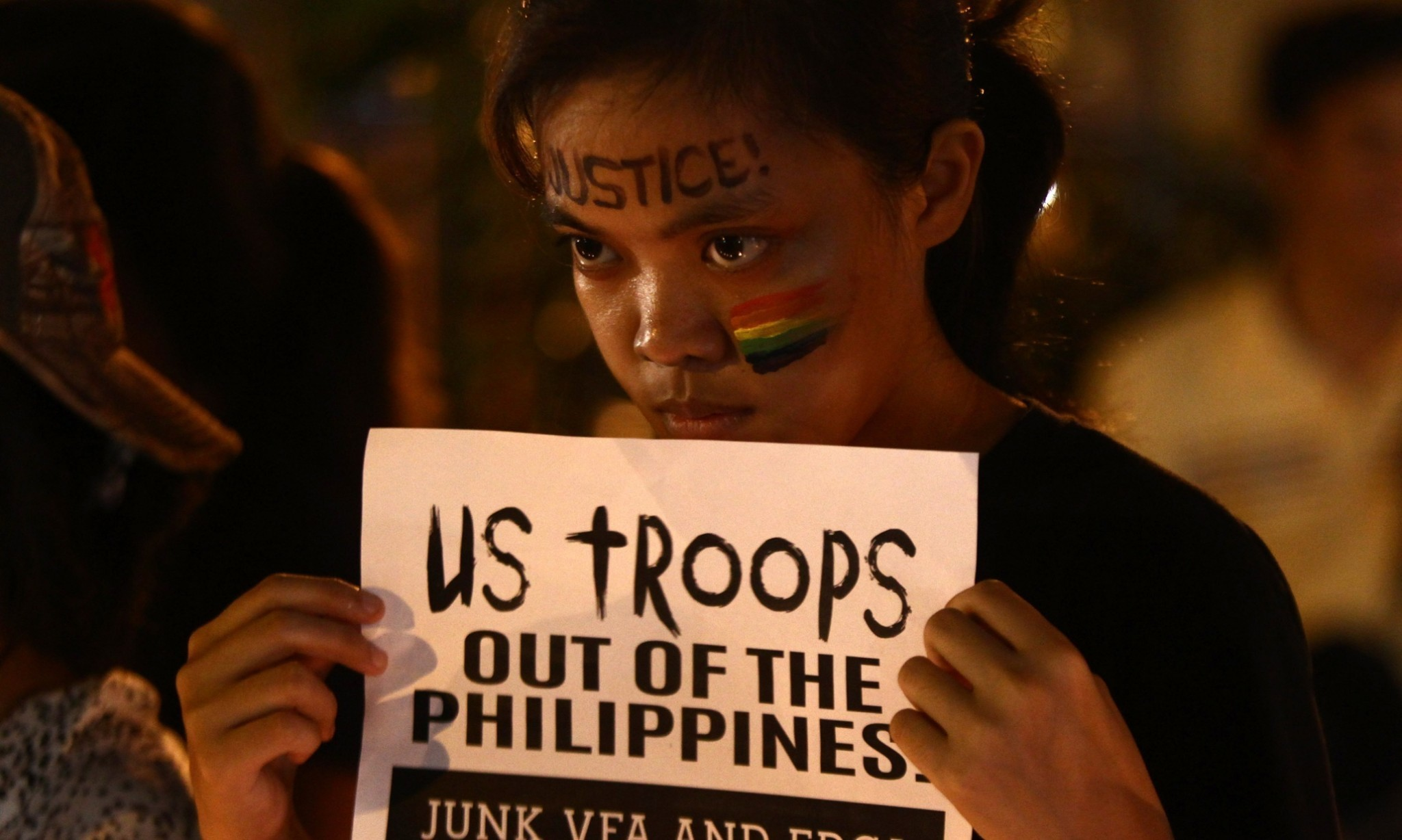 Philippine protesters demand US give up marine over transgender killing