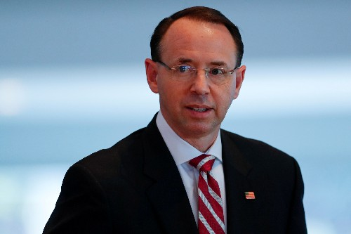 Ex-FBI deputy: Rosenstein cited two people who might have pursued Trump ouster