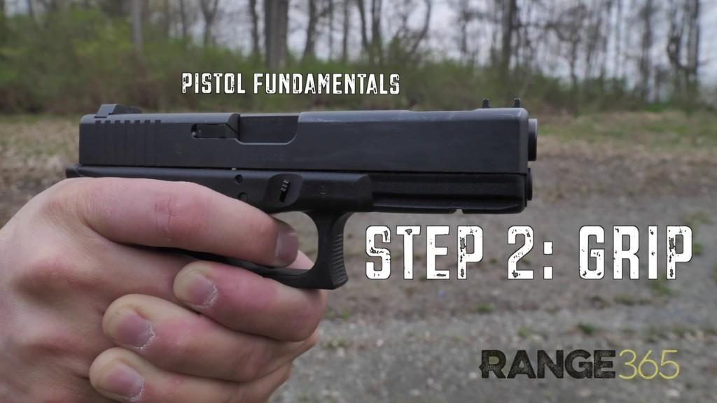 Handgun Fundamentals: Grip