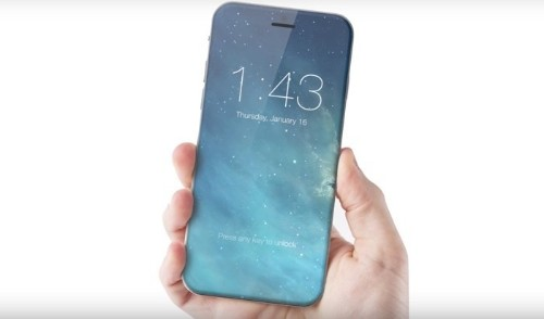 2017 iPhone May Feature Edge-to-Edge Display With Embedded Touch ID Sensor, Front-Facing Camera