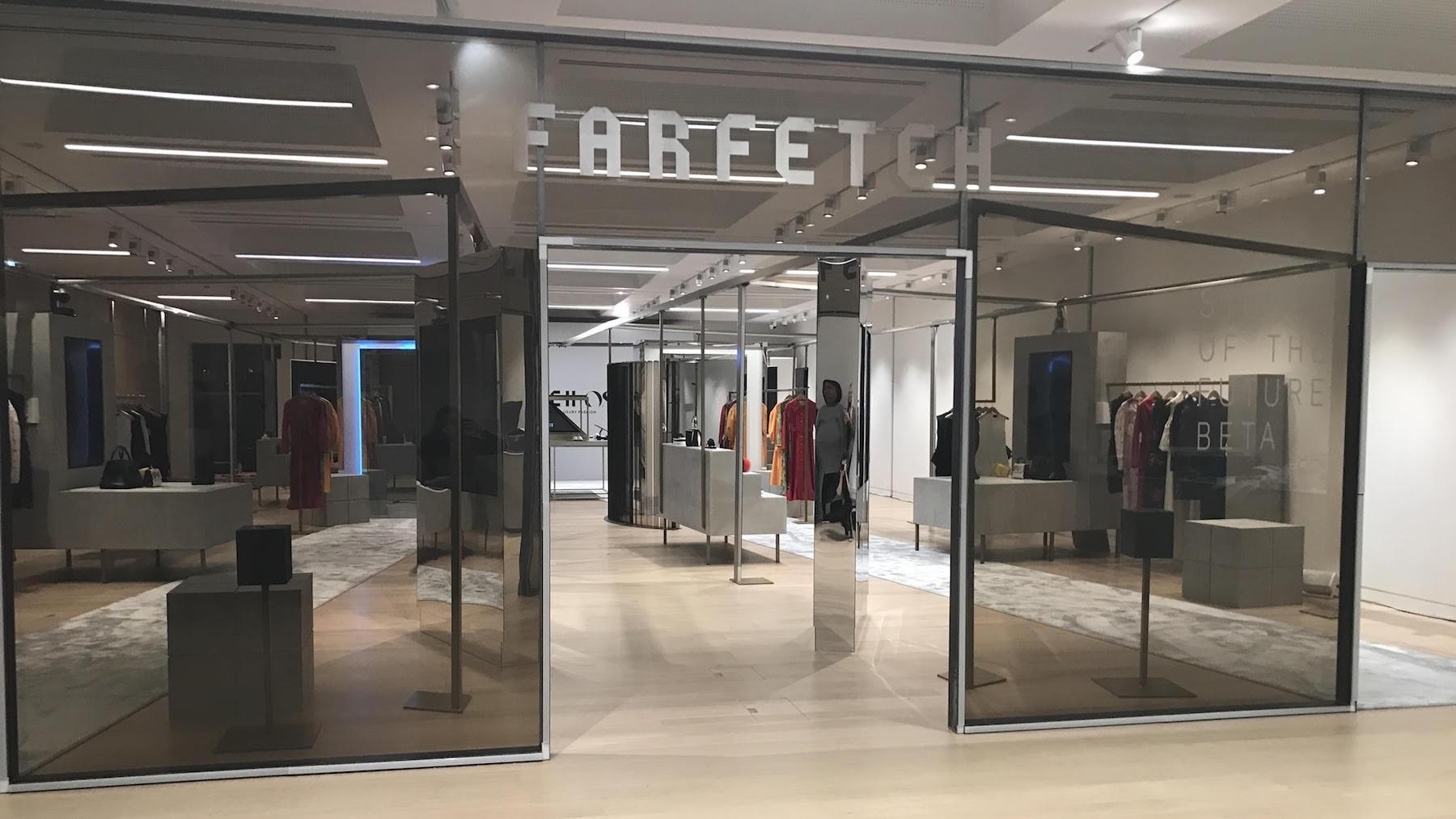 Inside Farfetch's Store of the Future