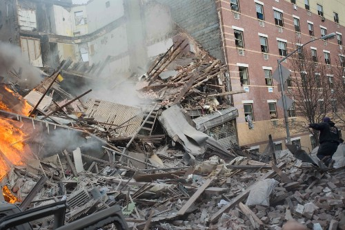 NYC Building Explosion 3.12.14 In Pictures