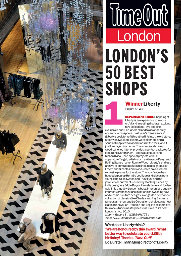 Best Shops a London