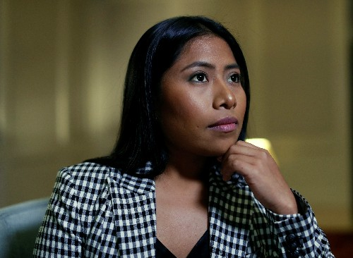 Star of Mexican film 'Roma' prompts raw discussion of race, class