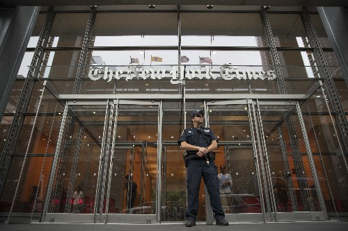 Trump campaign sues NY Times for defamation over Putin