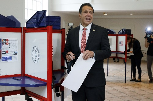 Cuomo easily defeats Nixon in NY gubernatorial primary