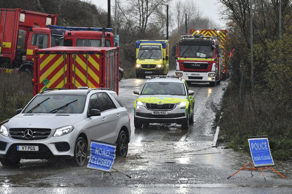 'Multiple casualties' after explosion at UK sewage plant