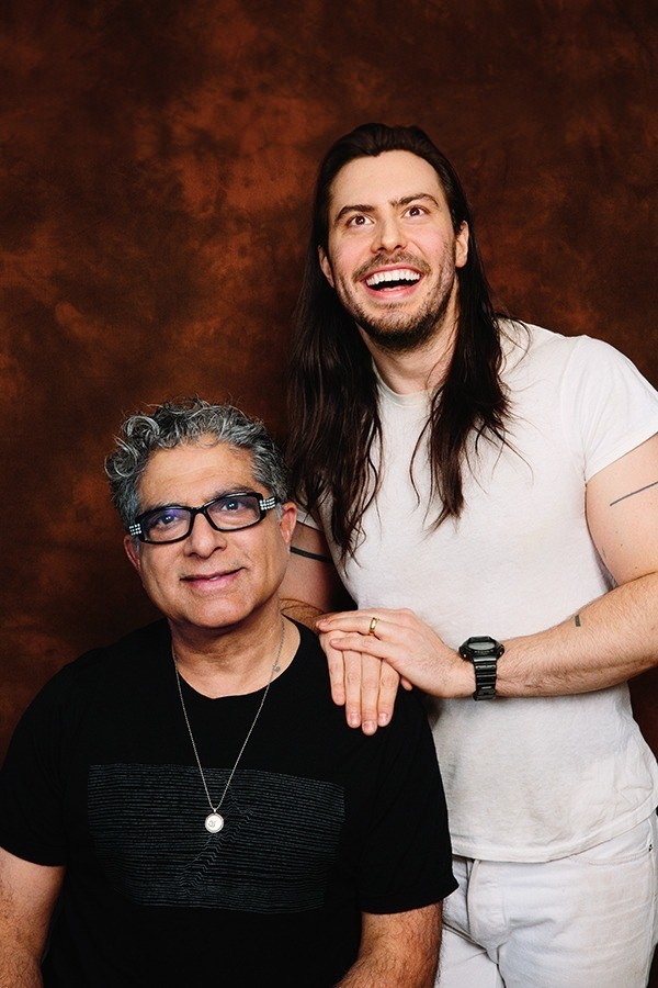 Deepak Chopra and Andrew W.K. Talk Mind Expansion, Partying and God