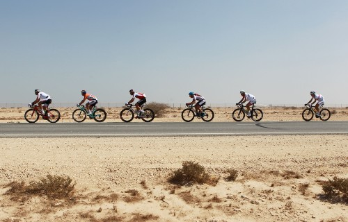 Highlights from the UCI Road Cycling Championships in Qatar: Pictures