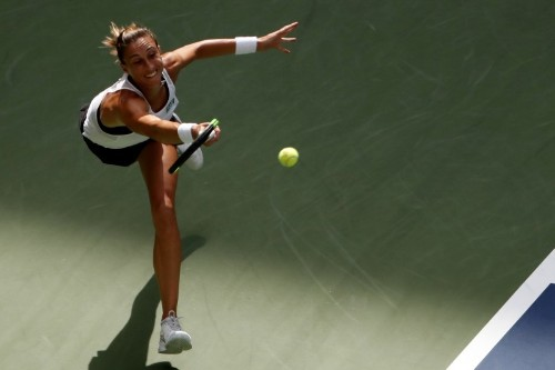 Martic sets up final with Pliskova at Zhengzhou Open