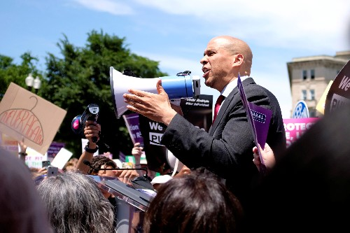 Democrat Cory Booker announces plan to protect abortion rights