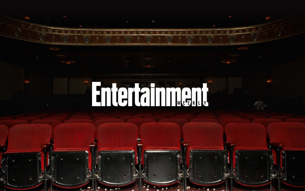Entertainment - Magazine cover
