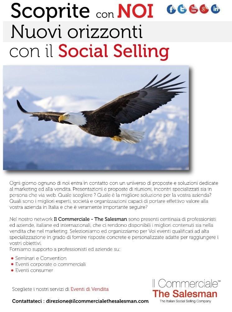 Il Commerciale - The Salesman promo servizi : Eventi di Vendita.