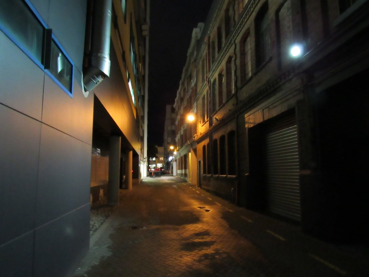 Lane - Wellington has a number of small lanes running through the inner city