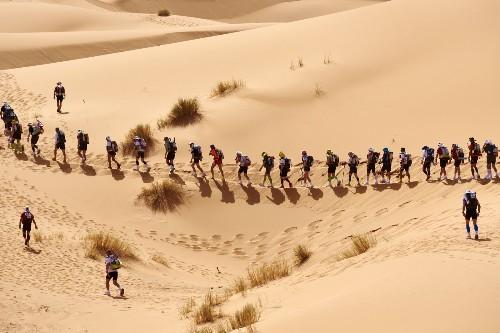 The Marathon des Sables in Pictures