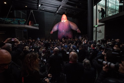 Pink Floyd Exhibit Opens in Rome: Pictures