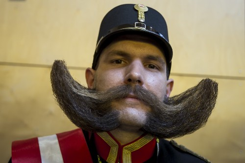 World Beard and Moustache Championships: Pictures