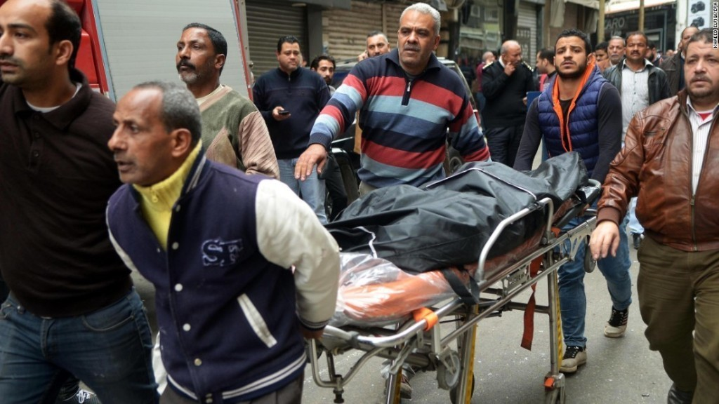 Egypt declares state of emergency after Palm Sunday church bombings