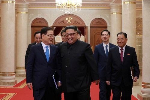 North Korea's Kim aims for denuclearization within Trump's first...