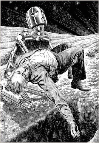 Virgil Finlay's work is heart-breaking and breathtaking ... all at once!