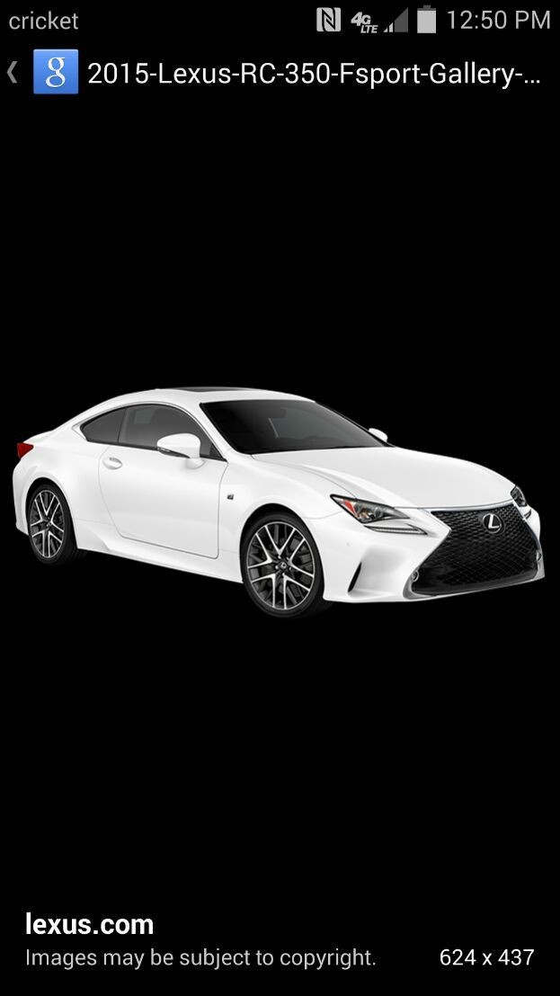 The new lexus re coupe
