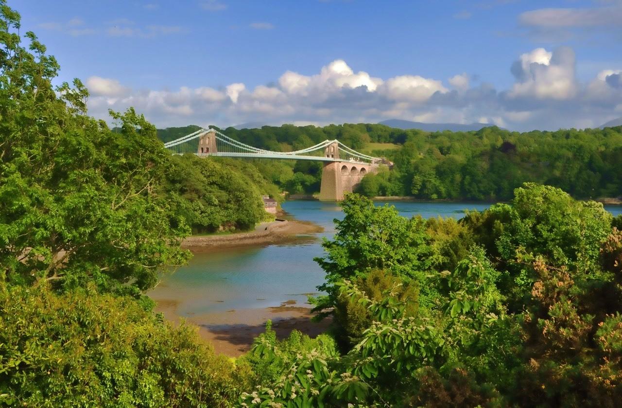The Menai Suspension Bridge -Thomas Telford