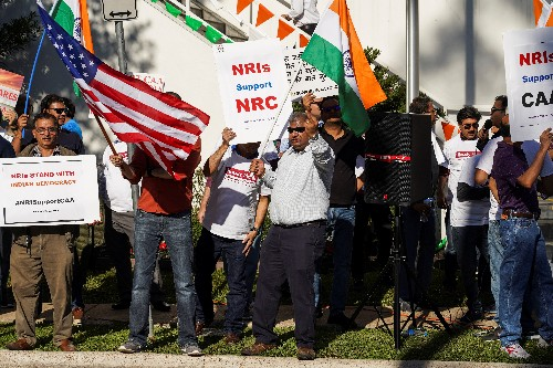 Four months after 'Howdy, Modi!', some Indians abroad protest over citizenship law