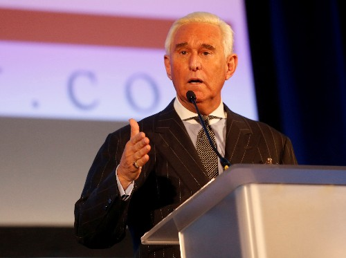Trump adviser Roger Stone says he will not talk to Senate