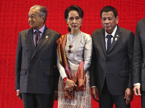 Trump absent, ASEAN charts path for trade bloc led by China
