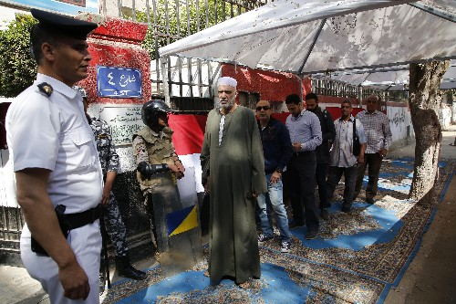 The Latest: Egypt begins vote on extending el-Sissi's rule