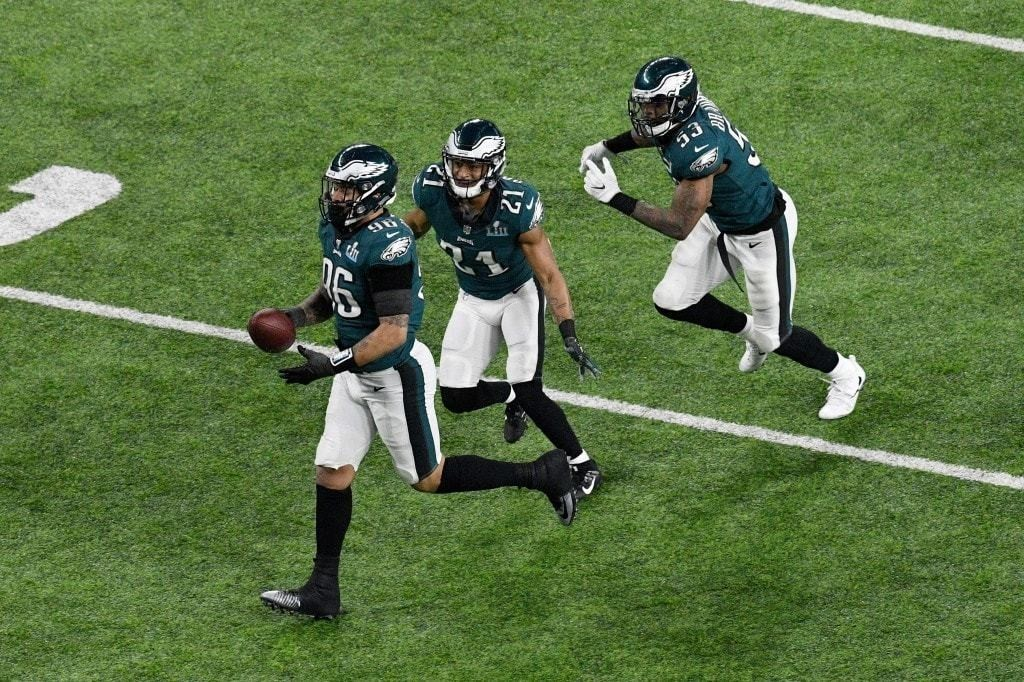 Eagles defeat Patriots, 41-33, to capture first Super Bowl title