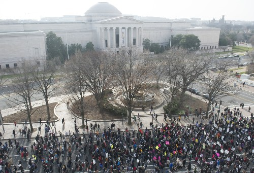 March In Washington Draws Thousands Of Protesters Demanding Justice For All