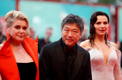 Japan's Kore-eda says 'The Truth' could only have been made with Deneuve