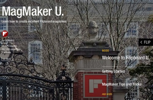 Get an Education in Flipboard Magazines, at MagMaker U.