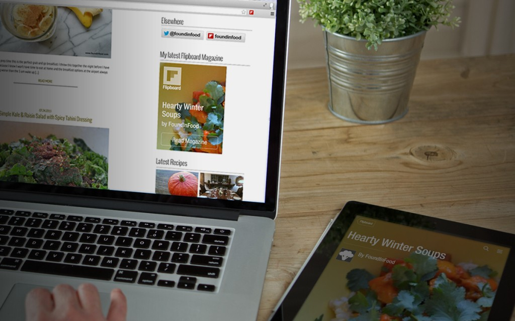 Promote Your Magazines with Flipboard's Web Badges