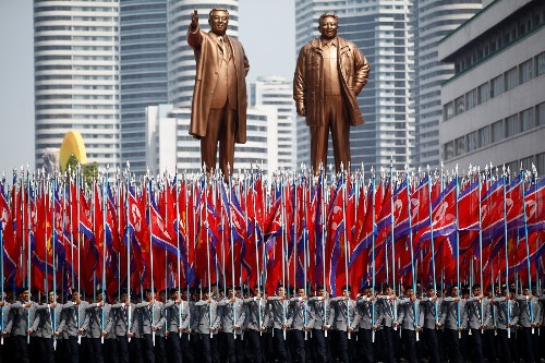 Parade and Celebration in North Korea: Pictures