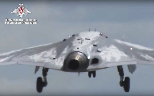 Russia's military drone makes successful maiden flight