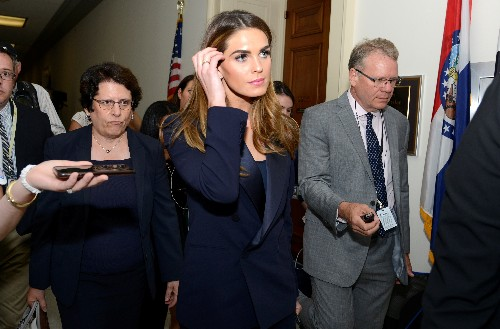 'OBJECTION!' Ex-Trump aide Hicks tight-lipped in U.S. House interview