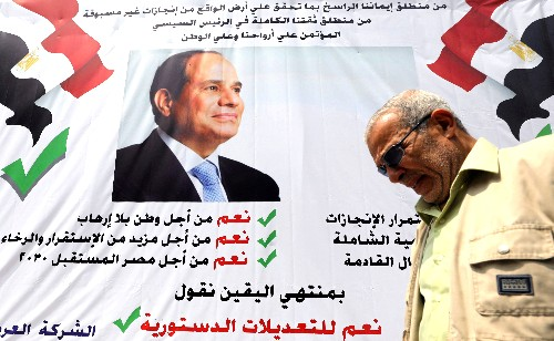 Egyptian voters back constitutional changes in referendum: election commission