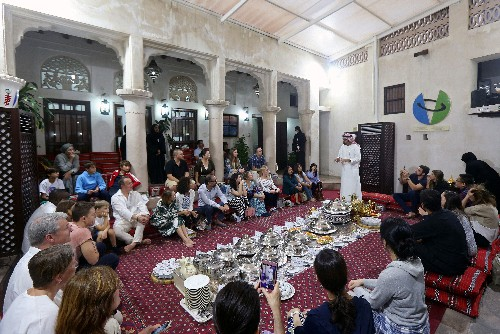 Curious foreigners get rare chance to sample Emirati culture