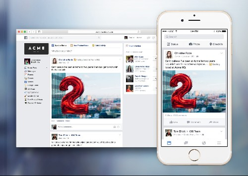 Facebook Unveils Facebook At Work, Lets Businesses Create Their Own Social Networks