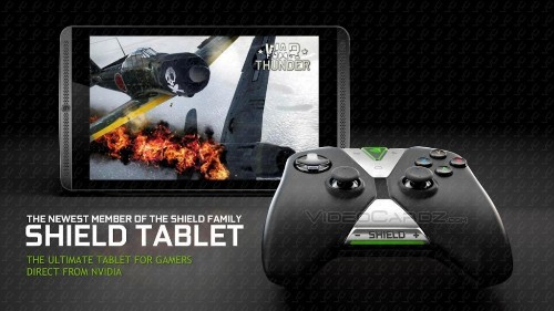 Nvidia's New Product Is A Shield Tablet With Tegra K1, Designed For PC And Android Gaming