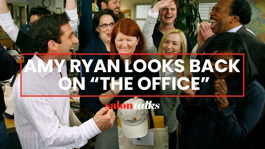 "Amy Ryan's theory on why ""The Office"" is still wildly popular"