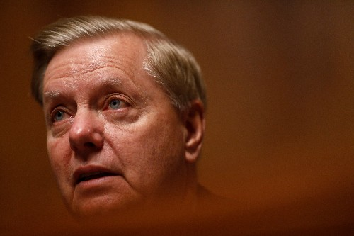U.S. Senator Graham says he strongly supports Trump on Turkey sanctions