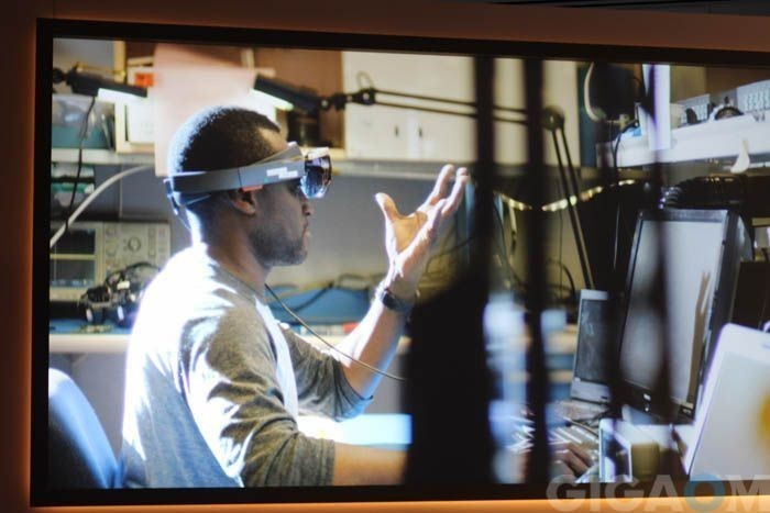 Microsoft HoloLens hands on: It's early, but it's already nifty