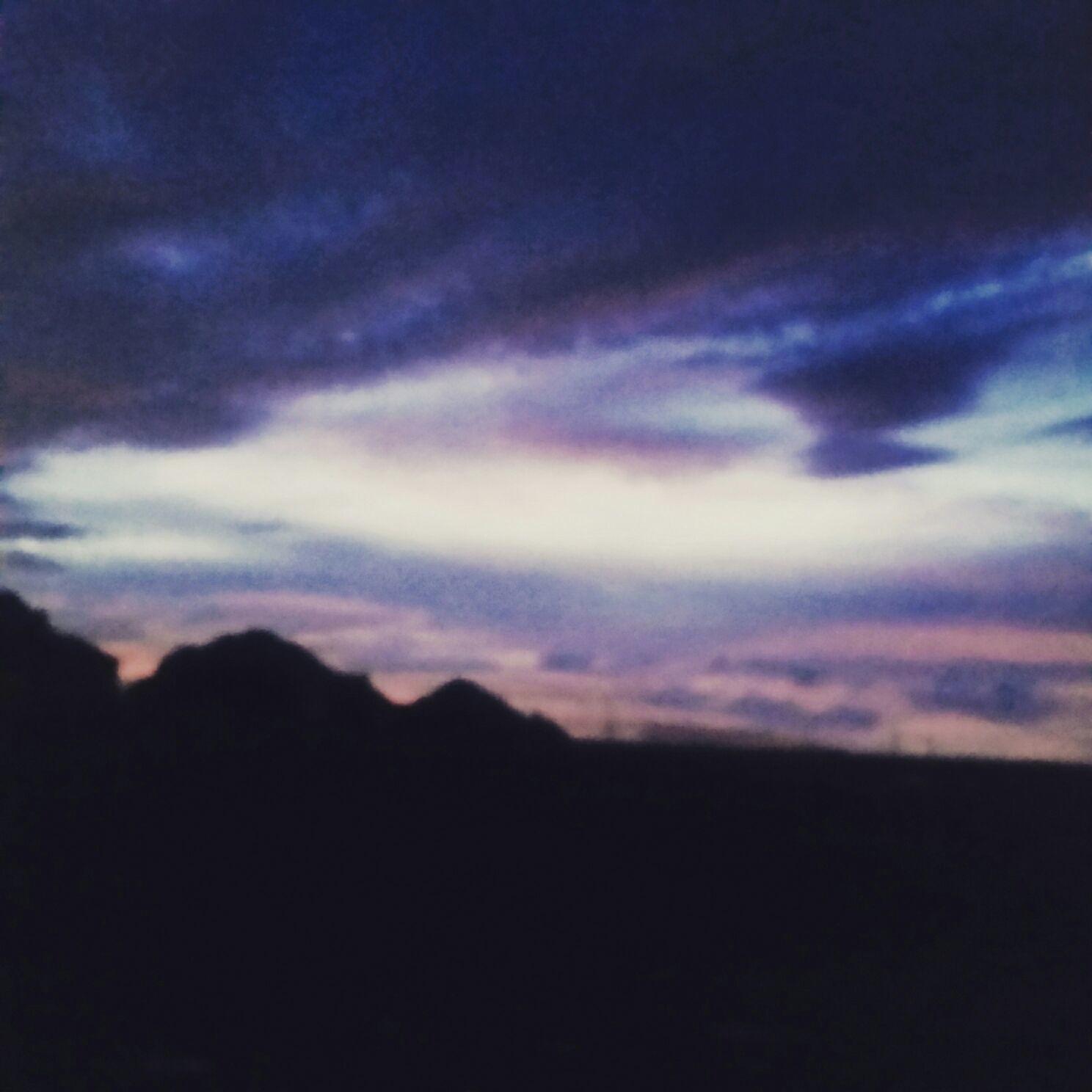 sunset at Hide Away Spa & Salon
