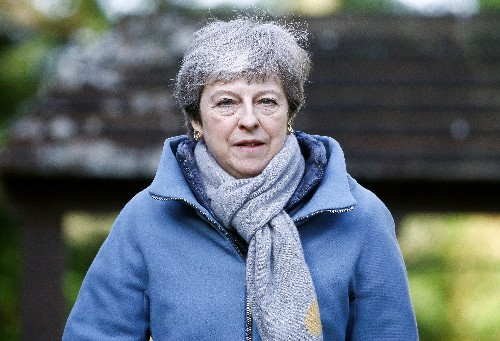 Brexit up in the air as May pushes divorce deal for third time